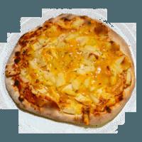 20 Tomaten, Käse, Hähnchenbrust, Ananas, Currysauce