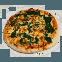 """23 """" Spinatpizza"""" Tomaten, Käse, Spinat, Mozarella"""